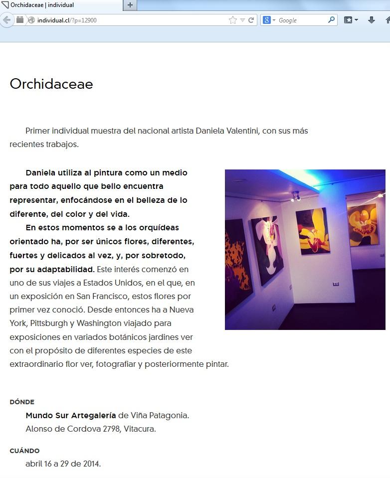 2014-orchidaceae por Individual.cl